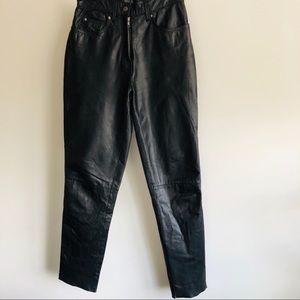 EUC Harley Davidson Leather Riding Pants
